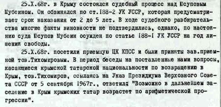 Как спецслужбы закрывали рты крымским татарам