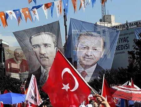 Современная Турция уже не Турция Ататюрка