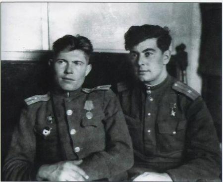 Тантана Ниязи и Абдуль Тейфук, 1944-1945 гг.