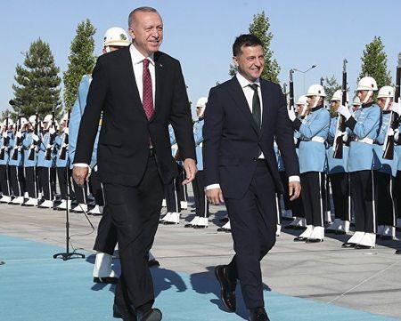 О чем Зеленский говорил с Эрдоганом