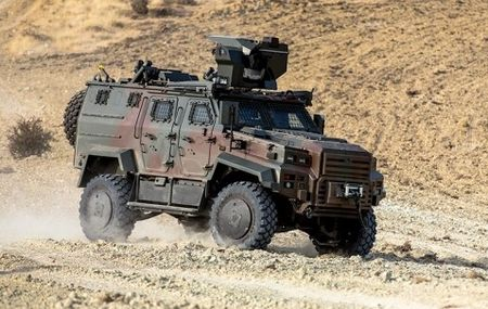 Турция вооружает Узбекистан бронемашинами