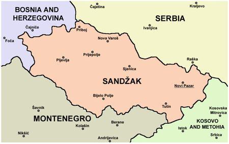 Бошняки хотят особого статуса для Санджака