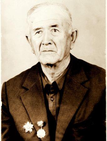 Идрис Гафаров участвовал в параде на Красной Площади в 1941