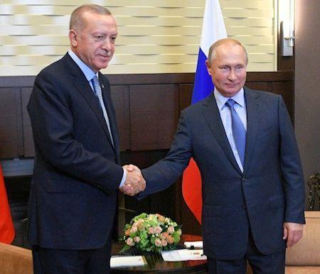 О чем договорились Путин с Эрдоганом по Сирии