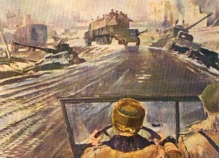 Абла Бекиров приводил в порядок военные дороги