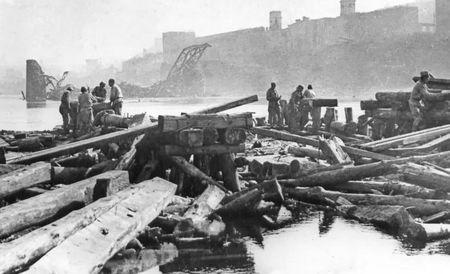 Мамбет Бекиров на войне строил мосты