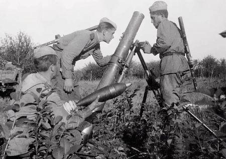Сеит-Умер Чалбаш командовал батареей 120 мм минометов (2)