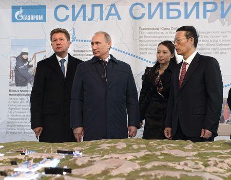 «Сила Сибири» потекла в Китай