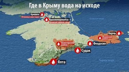 Сколько воды в Крыму?