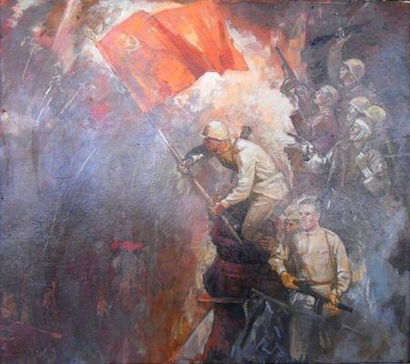 75 лет назад над Рейхстагом взвилось Знамя Победы