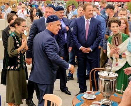 Татарстан отмечает 100-летие республики