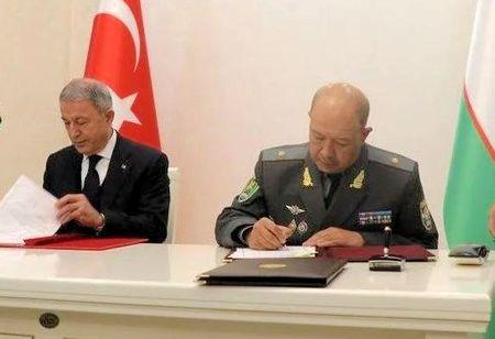 Турция и Узбекистан подписали соглашение о военном сотрудничестве