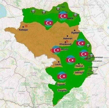 Освобождение Нагорного Карабаха продолжается