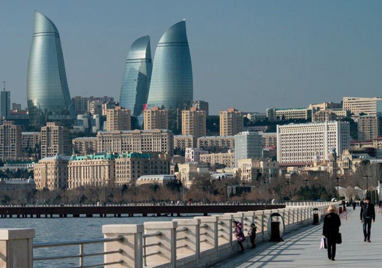 Баку — самый большой город Кавказа