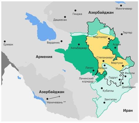 О чем договорились Путин и Эрдоган по Карабаху?