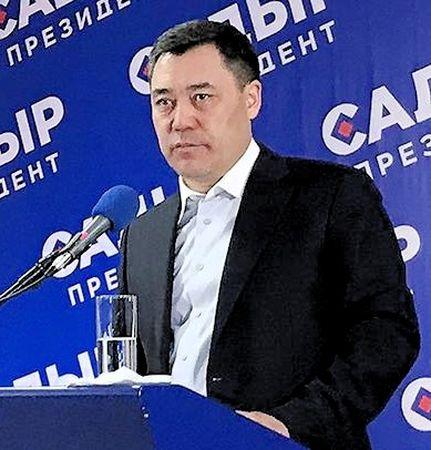 Садыр Жапаров избран президентом Кыргызстана