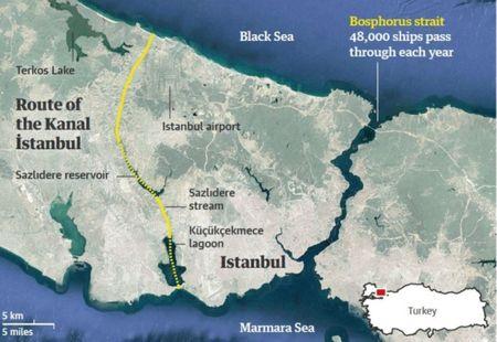 Канал Стамбул как альтернатива Суэцкому каналу