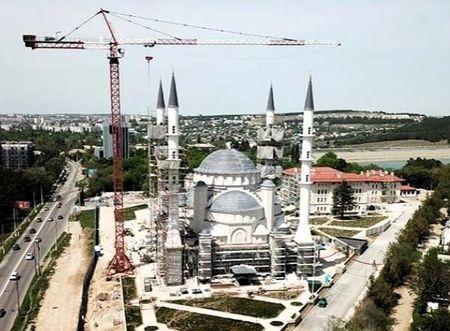 Cоборную мечеть в Крыму откроет Путин?