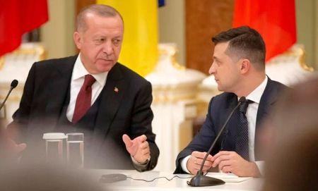 О чем Эрдоган гутарил с Зеленским