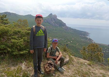 Походы Асан-акая и Вовы-акая по родному Крыму (24)