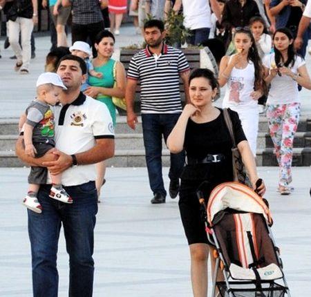Названа численность населения Азербайджана
