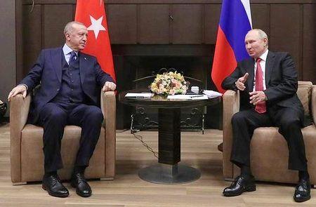 Путин и Эрдоган встретились в Сочи