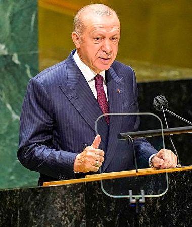 О чем говорил Эрдоган в ООН
