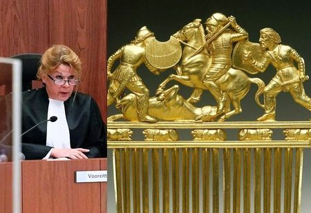 Суд Амстердама признал скифское золото собственностью Украины