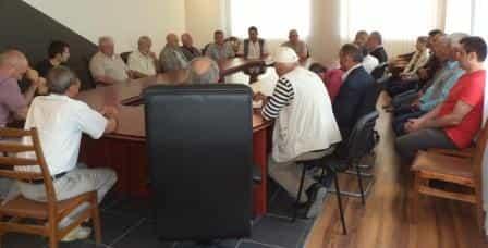 В воскресенье, 18 июня 2017, в Симферополе состоялась информационная встреча правления КРООСКР «Милли Фирка» с региональными представителями организации, на которую были приглашены участники и активисты Национального движения крымских татар