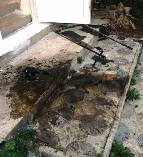 Террористы бросили в окно и дверь дома Абдураимова три бутылки с «коктейлем Молотова»