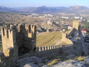 Who Has Made Undermining Under the Genoa Fortress in Sudak?