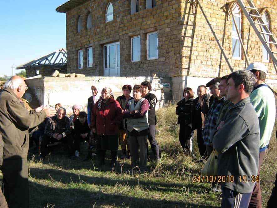Meeting With Participants of the Protest in Chistenkoye