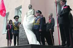 Stalin Was Decapitated in Zaporozhye