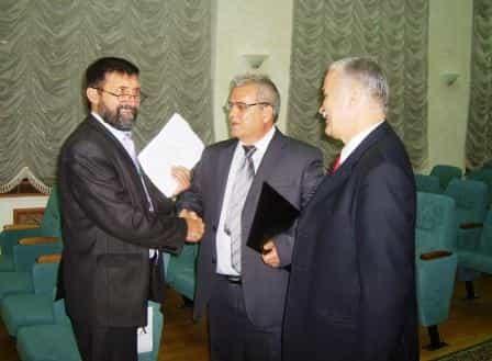 Беседа с вице-президентом АН РТ Джавдетом Сулеймановым