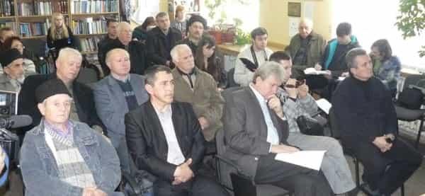 Совместная пресс-конференция представителей ряда крымскотатарских общественных организаций и ветеранов Национального движения крымских татар